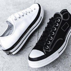 售价€135 黑白2色可选新品上市:Converse x 藤原浩 x Moncler 官网抢先发售 快来
