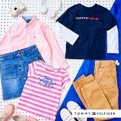 Starting at $7.99Tommy Hilfiger Kids Items Sale @ Zulily