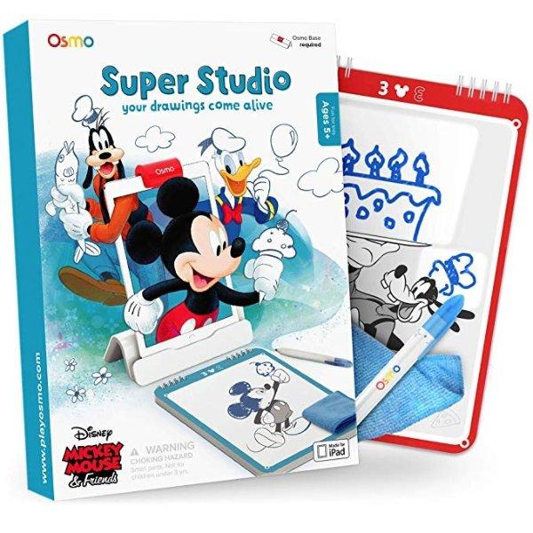 学画迪士尼米老鼠和他的朋友们
