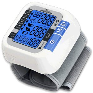 $26.78 (原价$31.51)Easy@Home 腕式小巧型血压计  带心跳/脉搏监测