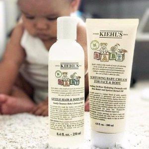 8折+3个小样最后一天:Kiehl's官网 母婴身体护理产品热卖