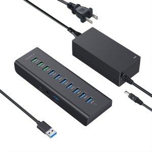 $21.99AUKEY 10 口 USB扩展/充电坞