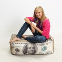 美钞懒人椅