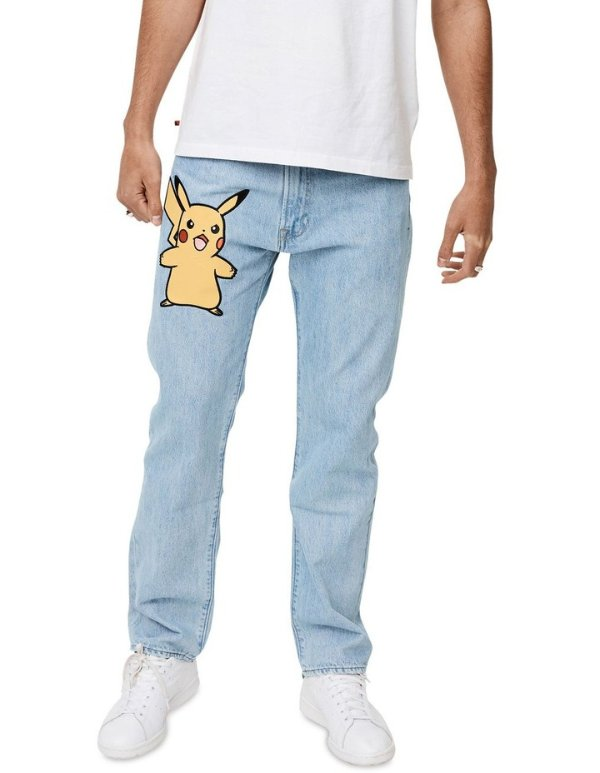 ® x Pokemon牛仔裤