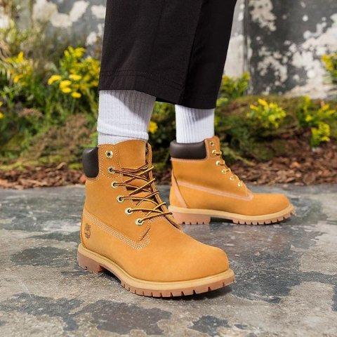 全场8折+两件9折!€79收小白鞋Timberland 折上折大促 秋冬是大黄靴的主场!怎么穿都不会错!