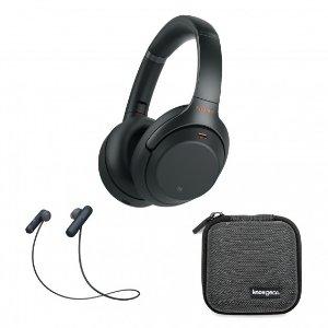 $348Sony WH-1000XM3 无线降噪耳机 + WI-SP500运动耳机