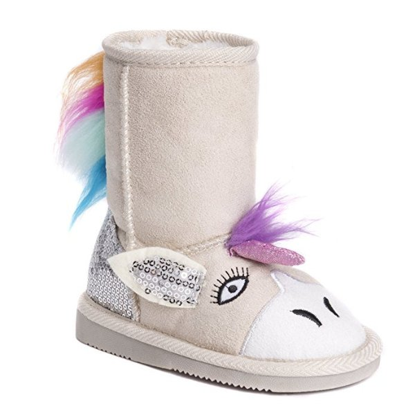 MUK LUKS 女童独角兽雪地靴