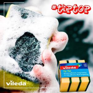 低至6折 3片装仅€0.85德国Vileda 微力达 厨房清洁工具热卖 收洗碗海绵、钢丝海绵