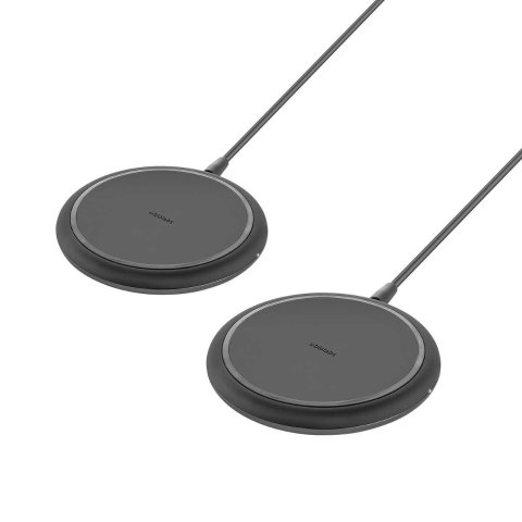 Ubio Labs Wireless Charging Pad for Mobile Phones, 2-pack