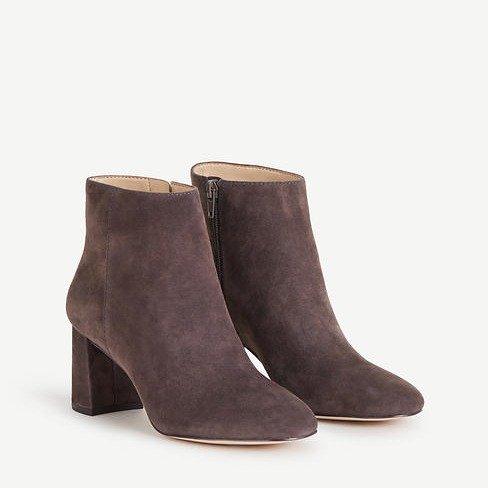 Eden 麂皮踝靴