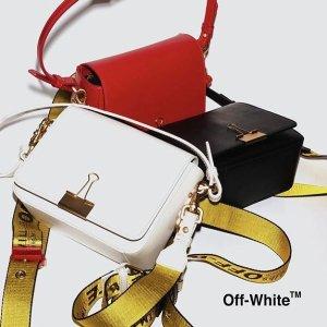 低至4折 超火夹子包再降$100+折扣升级:Off-White 潮衣鞋履及包包热卖 今年大势就是它