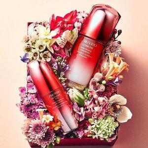新艳防晒温和防晒可收+直邮中国Shiseido 护肤彩妆8折热卖,收红腰子眼部精华、小钢炮眼霜