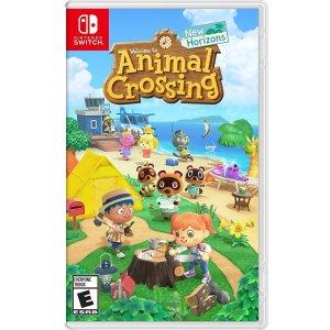 $45收 包邮《动物森友会》Nintendo Switch 实体版, 支持简体中文