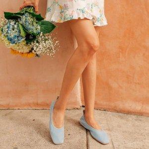 额外6折 封面芭蕾鞋$38Clarks 精选舒适鞋履折上折 尖头乐福鞋$20,裸色一脚蹬$47