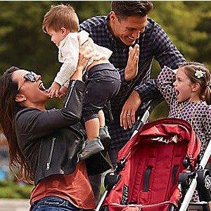 低至5.5折+额外8折+包邮Baby Jogger 多款童车及旅行套装特卖