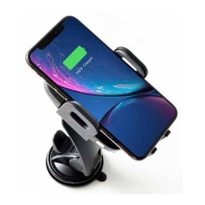 Phonesuit Energy Core Wireless Car Charger and Automatic Phone Dock (Black)