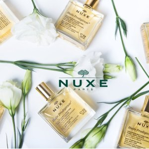 7.3折+满额好礼Nuxe 天然护肤品热卖 纯植物美容 给你最好的