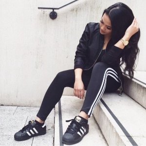 $27.9 adidas Originals Women's 3-Stripes Leggings