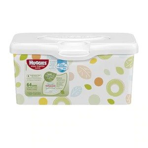 HuggiesNatural Care Baby Wipes, Unscented, Pop-Up Tub, 64 CT