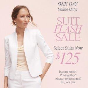 一套只要$125+免邮限今天:Ann Taylor Factory 女士小西装热卖