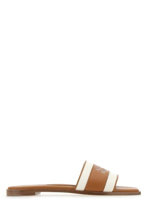 Logo Band凉鞋