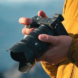 24.2MP APS-C 入门高端全覆盖新品上市:索尼发布 a6100 a6600 以及两款新 APS-C 镜头