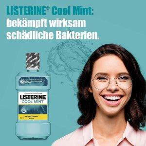 6.6折特价 现价€17.7Listerine 薄荷味漱口水600毫升x6瓶