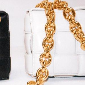低至8折+新人9折Bottega Veneta 时尚专场 紫色云朵包$1259,切尔西靴$629
