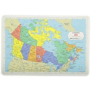 地图餐垫 加拿大