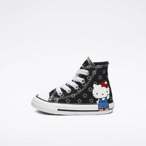 Hello Kitty联名款 $17.5包邮Converse官网 童款促销区额外7折热卖