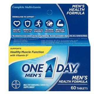$3.28($4.94)One A Day Men's Health Formula Multivitamin, 60 Count