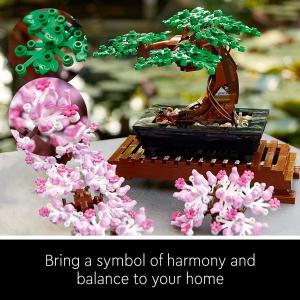 6折起!封面盆栽£39收!Lego 乐高 2021新款盆景、插花、DIY手环等超多闪促