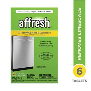 $3.37Affresh W10549851 Dishwasher Cleaner, 6 Tablets