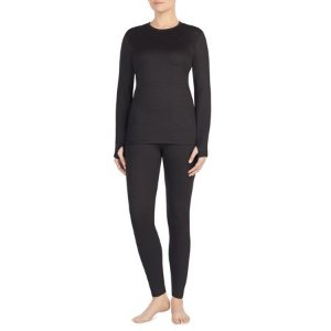 $5.99(原价$11.44)Walmart 精选女士保暖衣热卖