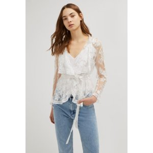 French ConnectionElayna Lace Waterfall Jacket