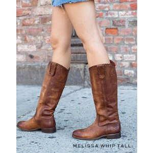 Melissa Button 2复古长靴