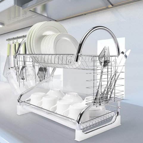 Glotoch 2 Tier Dish Drying Rack