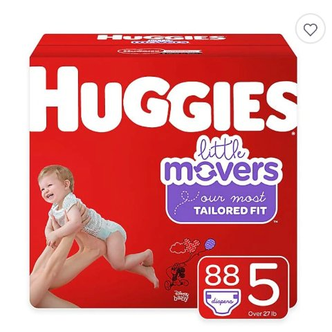 $10 Gift Card with Purchase of $50+buybuy Baby Diapers & Wipes Sale