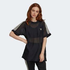 Adidas抢手款薄纱T恤