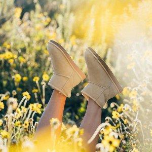 低至4折 毛毛豆豆鞋$69.9UGG Australia官网 折扣区美鞋反击囤