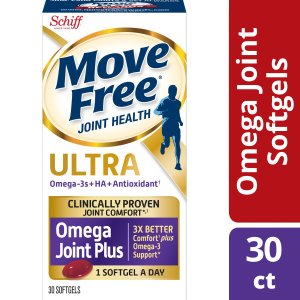 Move Free 353 mg, 30 ct Ultra Omega Joint Comfort + Krill Oil and Hyaluronic Acid Softgels - Walmart.com