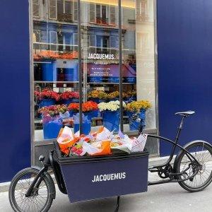 仅一周时间!快去打卡吧Jacquemus x Les fleurs de Paul 巴黎鲜花快闪店