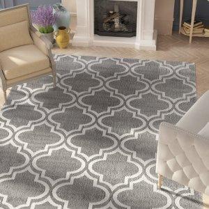 $39.99最后一天:Wayfair 精选5X8/5x7英寸装饰地毯大促