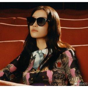 Gucci倪妮相似款GG0320S 墨镜