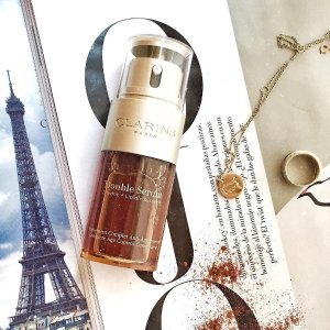 Dealmoon Chinese New Year Exclusive!Up to 10-pc gift with $125 Double Serum purchase @ Clarins