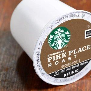 第2箱半价 星巴克咖啡胶囊1颗只需$0.49Starbucks、Peets 等精选K cup咖啡胶囊促销