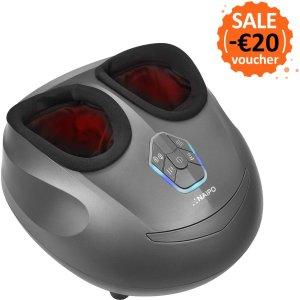 现价€119.99(原价€139.99)Naipo 足部按摩器 带有加热功能 好价