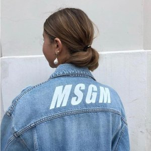低至3折 T恤$70+潮牌Msgm专场 $92收Logo卫衣