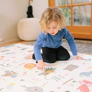 游戏垫$109.95起Baby Care 经典双面游戏垫、安全围栏、可调节儿童桌
