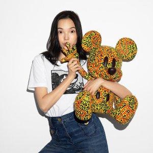 3折起+额外8.5折 封面T$49Coach Outlet 专柜线 迪士尼米老鼠 X Keith Haring 合作系列